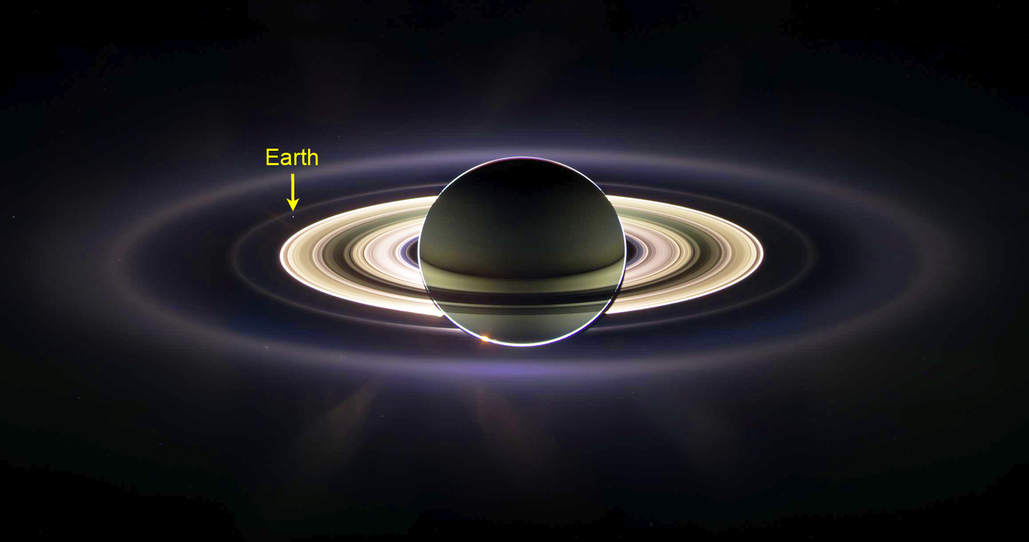 Total Eclipse at Saturn