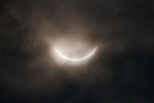 Partial Solar Eclipse - Paul Evans 2009