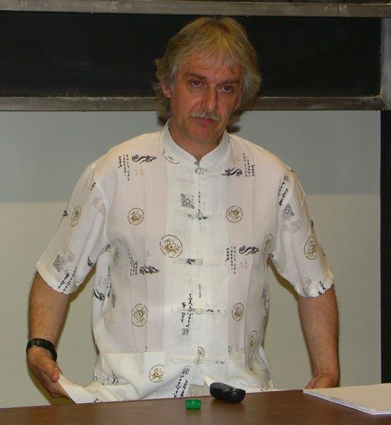 Dr John Mason at the IAA