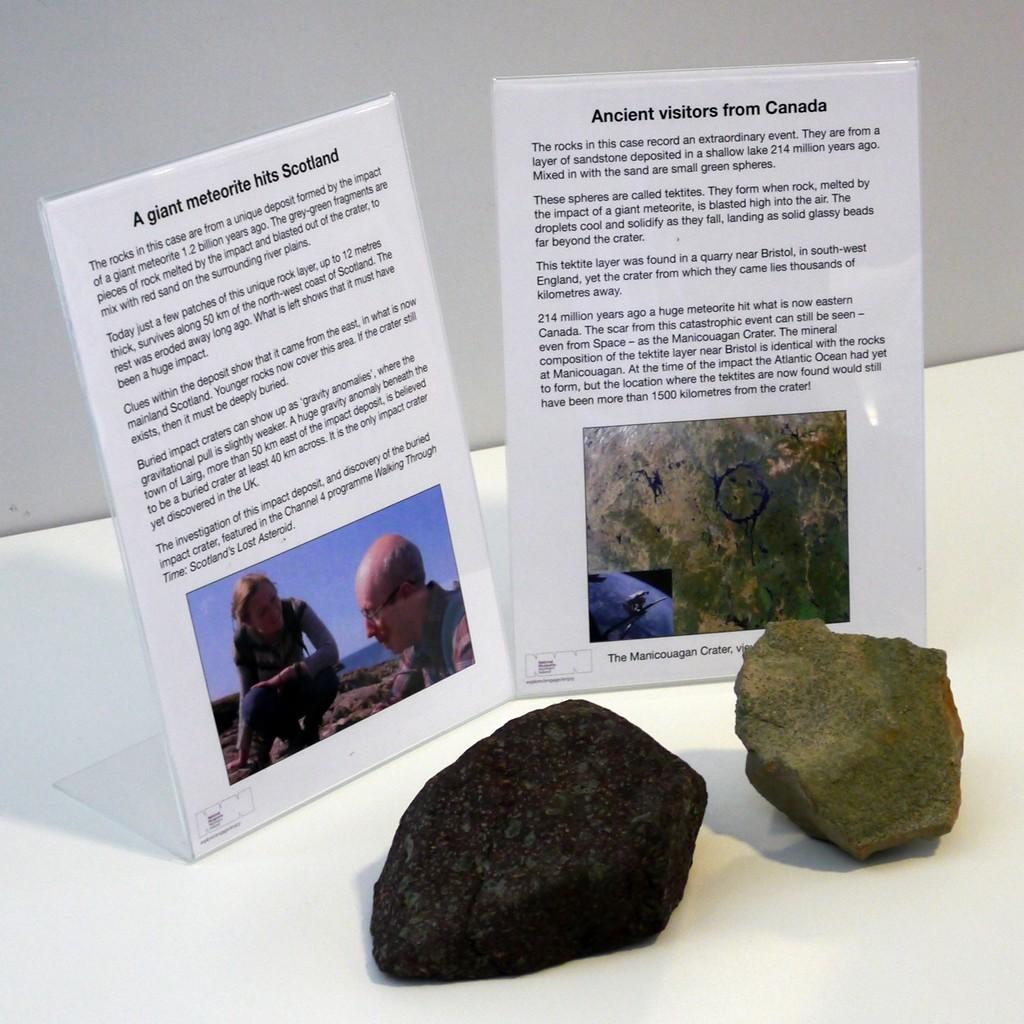 Two Meteorites
